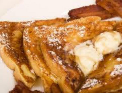 Farmhouse French Toast with Camembert