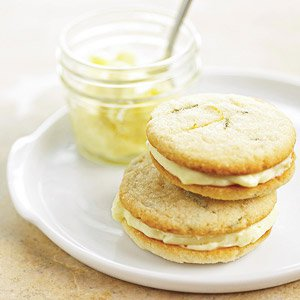 Rosemary Lemon Sandwich Cookies - Doe's and Diva's Dairy, Inc.